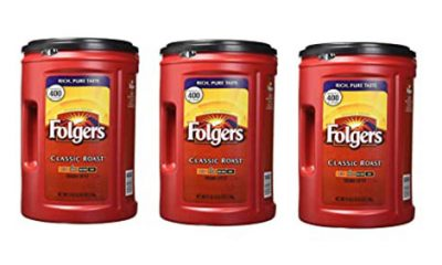 Folgers AromaSeal canisters