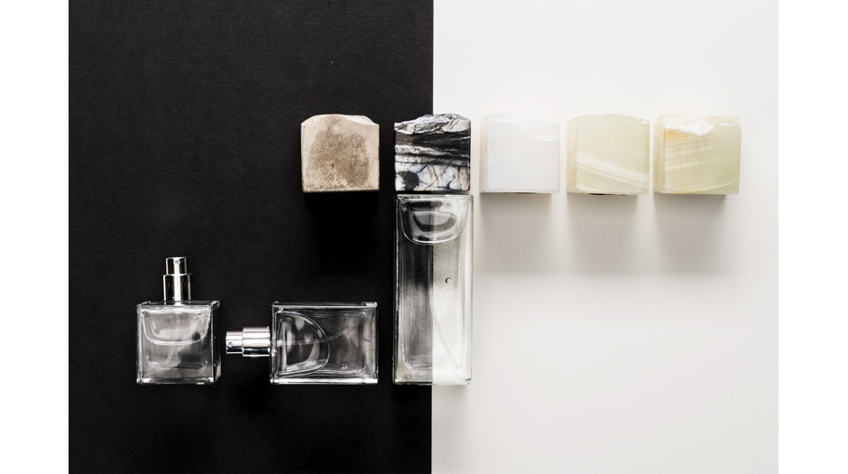 glass fragrance bottle