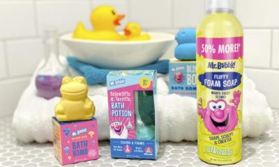 Mr. Bubble Brings Bath Time Fun with Fizzing Potions & Blind Box Bath Bombs