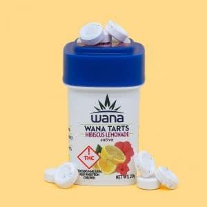 Wanna brands CO hibiscus lemonade sativa tarts hero