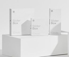 Ventiv's Slider box packaging
