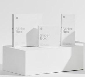 Ventiv's Slider box packaging