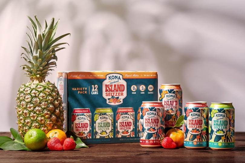 Kona Spiked Island Seltzer Stands Out in the Crowded Hard Seltzer Category