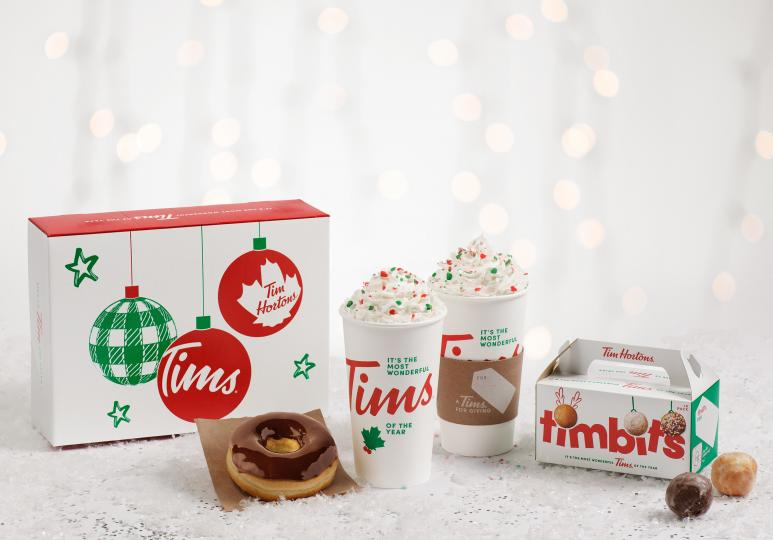 Tim Hortons Unveils Its Limited-Edition Holiday Packaging