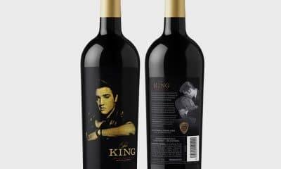Elvis wine bottles