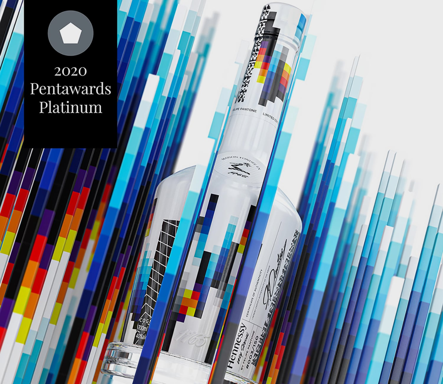 Hennessy VS Collector's Edition BY Felipe Pantone—Appartement 103