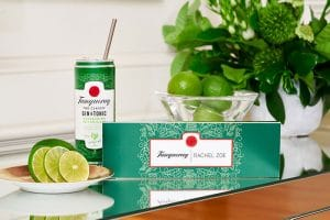 Tanqueray Reusable Straw