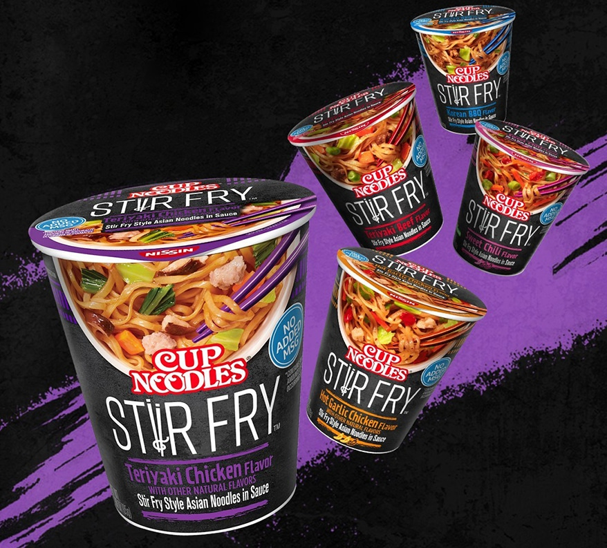 Nissin cup Stir Fry noodles