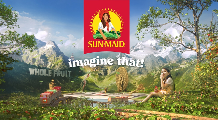 Sun-Maid Feeds Imagination in New Brand Campaign