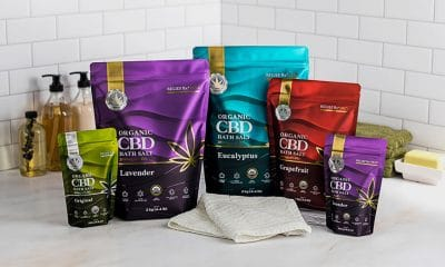 Saltology Debuts CBD Bath Salts in Pouches