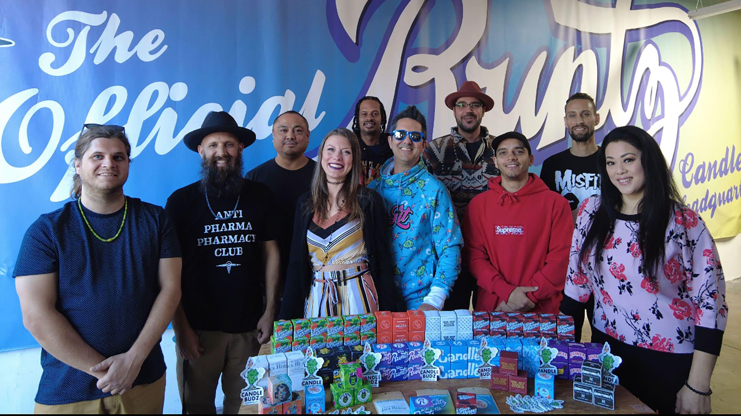 Jordan and Candlebudz crew