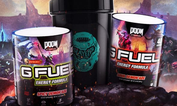 Package Designs for G Fuel's New Demon'ades Celebrate Esport Culture