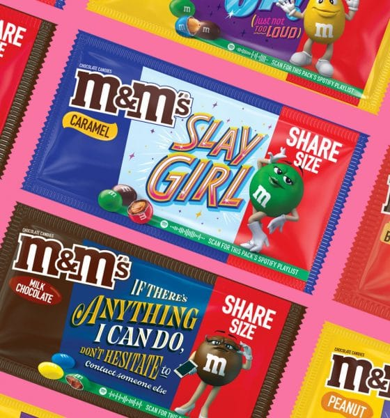 m&m's messages packs