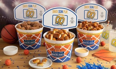 Basketball-themed Auntie Anne's Pretzel Buckets Celebrates March Madness