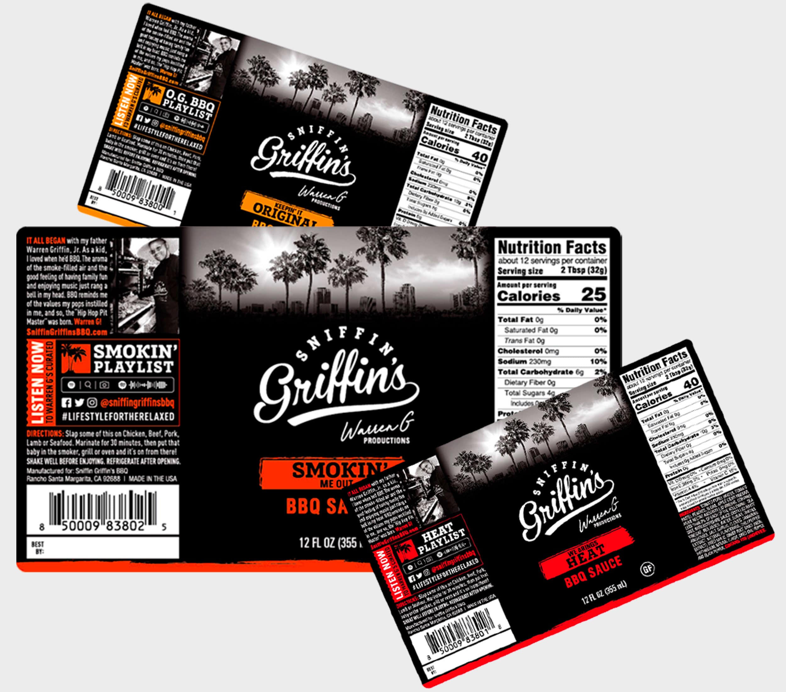 Griffin's barbeque flavors