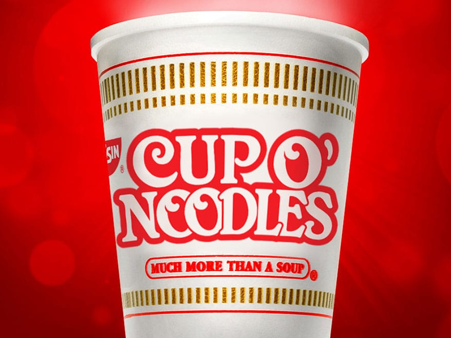Nissin Foods Brings the O' Back to Its Packaging