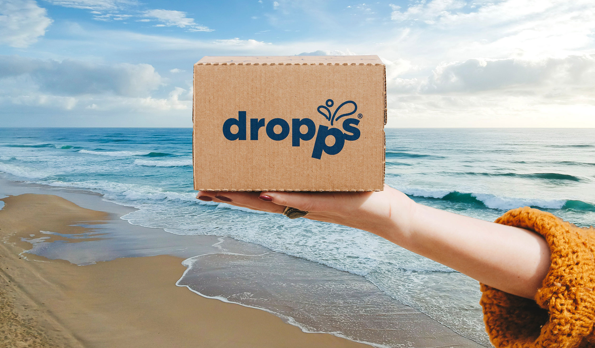 Household cleaning products brand Dropps is known for pairing recyclable cartons with dissolvable pods to deliver a more sustainably packaged experience direct to customers' homes.