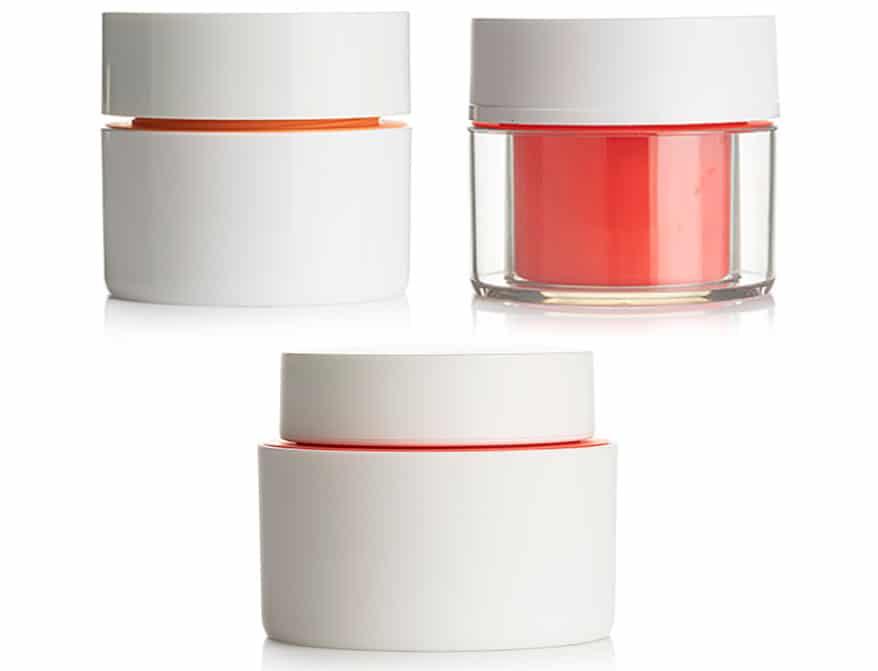 Lightweight, Luxury Cosmetics Jar