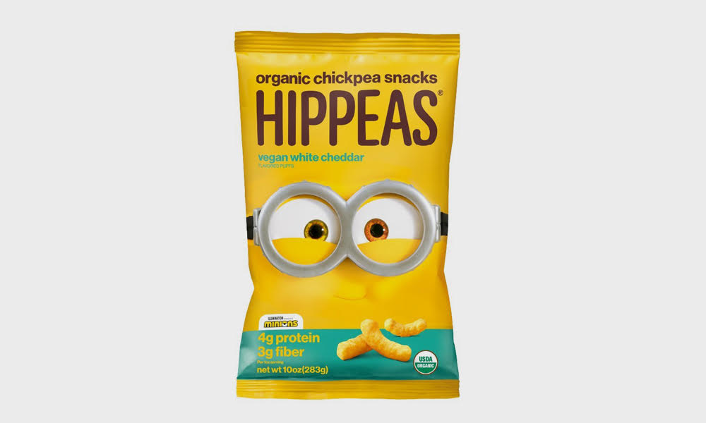 """Hippeas Debuts """"Minions""""-Themed Snack Pack"""