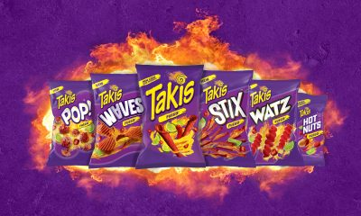 Bigger Logo Featured in Redesign of Takis Snack Brand