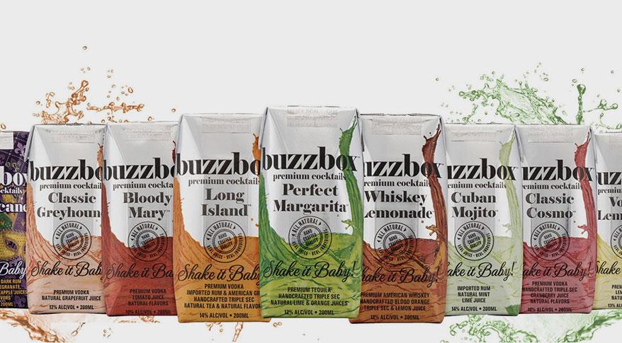 Buzzbox Cocktail Brand's Carton Packaging Receives Positive Response