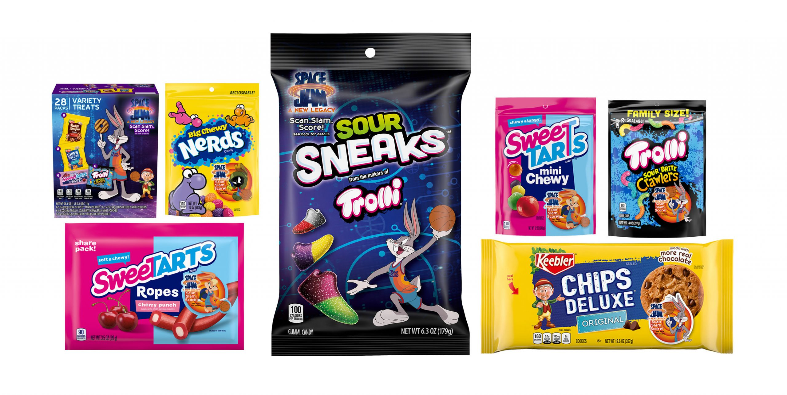 """Ferrara Snack Maker Launches """"Space Jam"""" Limited-Edition Packaging"""