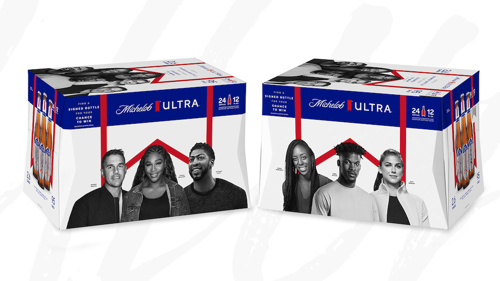 Michelob Ultra Introduces Limited Edition Pack Spotlighting Superstar Athletes