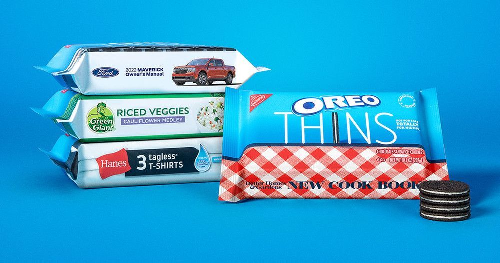 Oreo Disguises Own Product with Other Brands' Logos