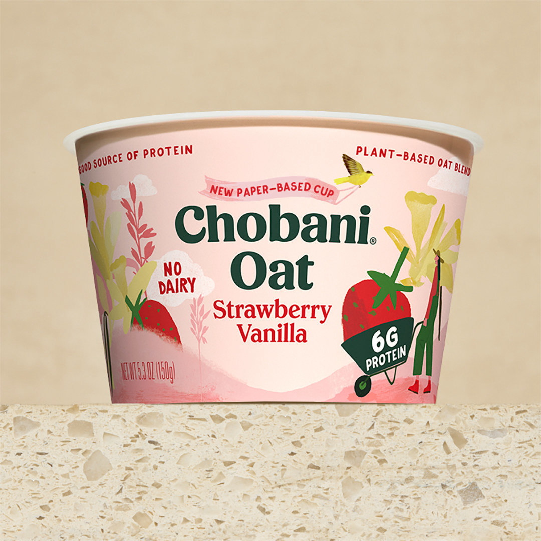 By Popular Request, Chobani Moves Yogurt into Paper Cups
