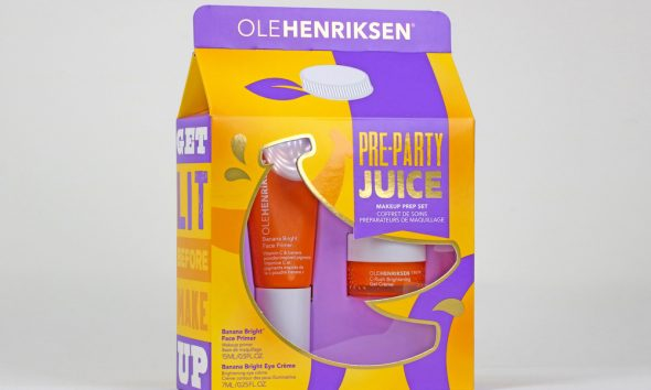 Ole Henriksen Proves Gable Top Cartons Aren't Just for Milk Anymore