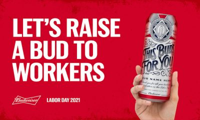 Budweiser and Upwork Unveil Limited-Edition Labor Day Cans