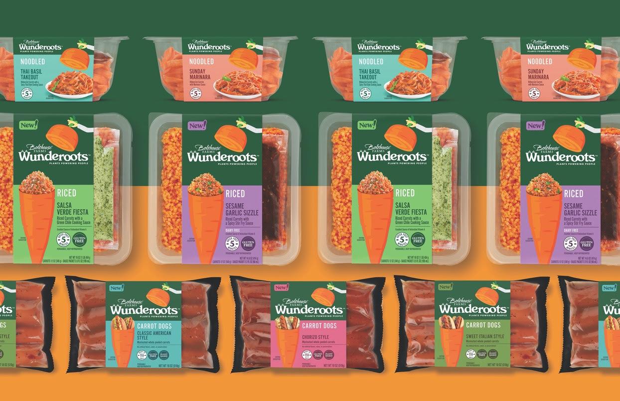 New Wunderoots Branding Celebrates the Carrot