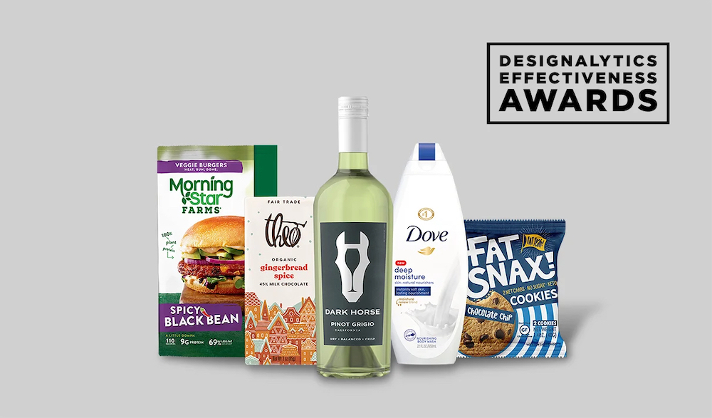 5 Brands Win Packaging Design Honors in Designalytics Effectiveness Awards