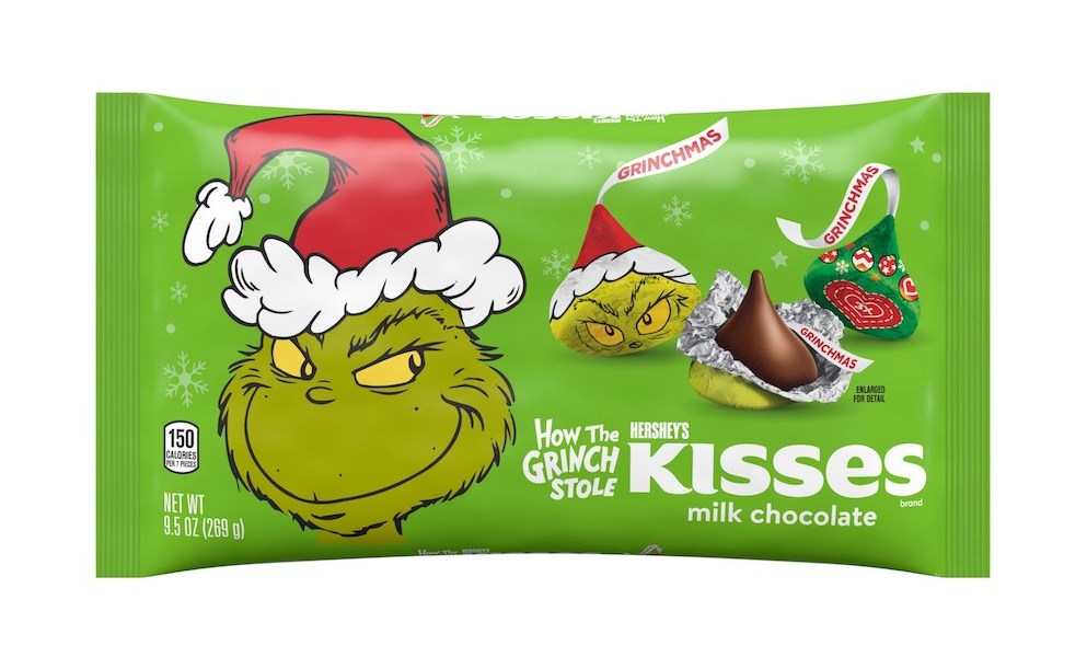 Christmas-Themed Packaging Revealed for Hershey's Holiday Lineup