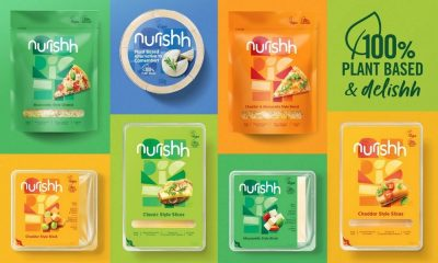 Nurishh Introduces Branding for Plant-Based Cheese Range