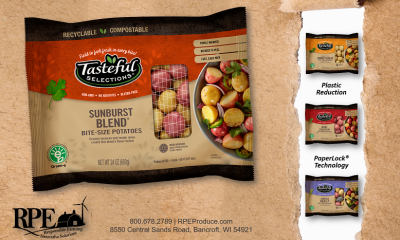 Tasteful Selections Potato Brand Debuts Compostable Paper Packaging